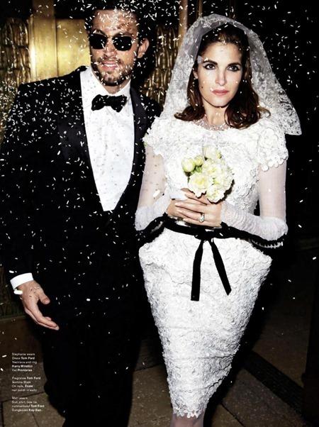 V MAGAZINE Stephanie Seymour & Matt Raimo by Mario Testino. Carine Roitfeld, Fall 2011, www.imageamplified.com, Image Amplified (5)
