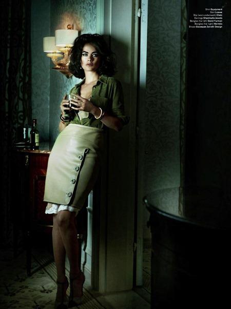 V MAGAZINE Carolyn Murphy by Mario Testino. Carine Roitfeld, Fall 2011, www.imageamplified.com, Image Amplified (3)