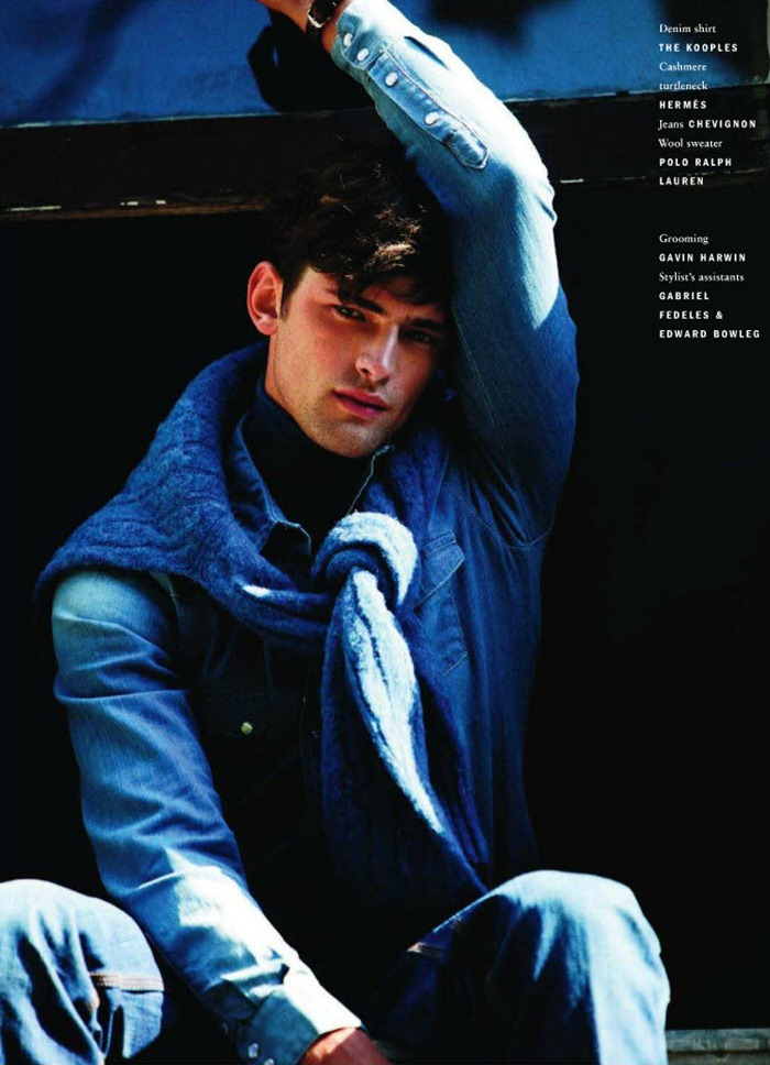 VOGUE HOMMES INTERNATIONAL Sean O'Pry in Royal Blue by David Armstrong. Azza Yousif, www.imageamplified.com, Image Amplified (1)