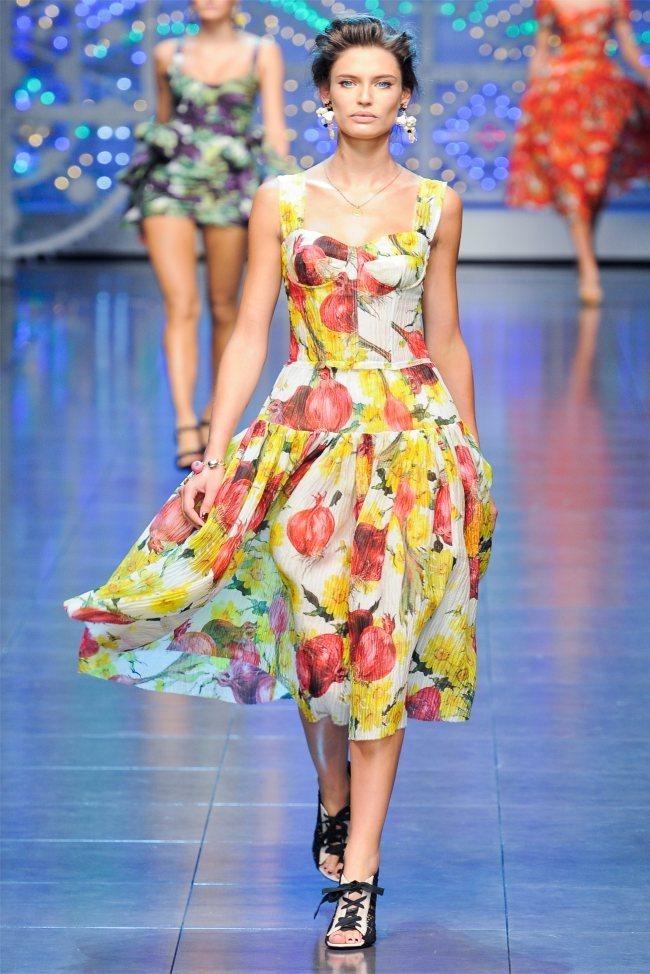 MILAN FASHION WEEK Dolce & Gabbana Spring 2012. www.imageamplified.com, Image Amplified (2)