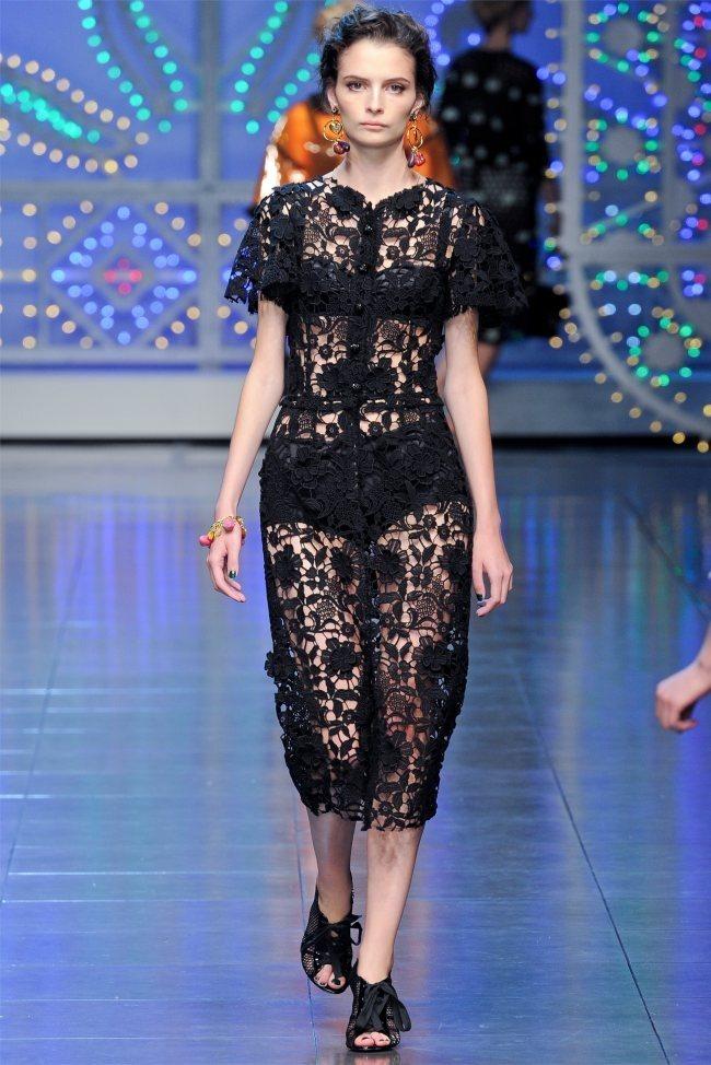 MILAN FASHION WEEK Dolce & Gabbana Spring 2012. www.imageamplified.com, Image Amplified (48)