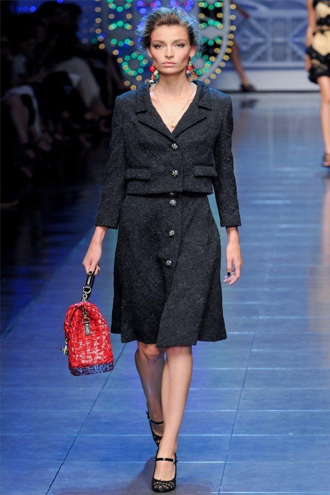MILAN FASHION WEEK Dolce & Gabbana Spring 2012. www.imageamplified.c om, Image Amplified (56)