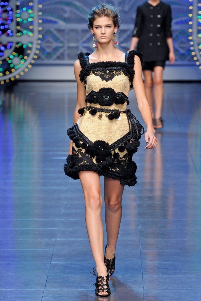 MILAN FASHION WEEK Dolce & Gabbana Spring 2012. www.imageamplified.com, Image Amplified (57)