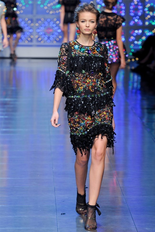 MILAN FASHION WEEK Dolce & Gabbana Spring 2012. www.imageamplified.com, Image Amplified (70)