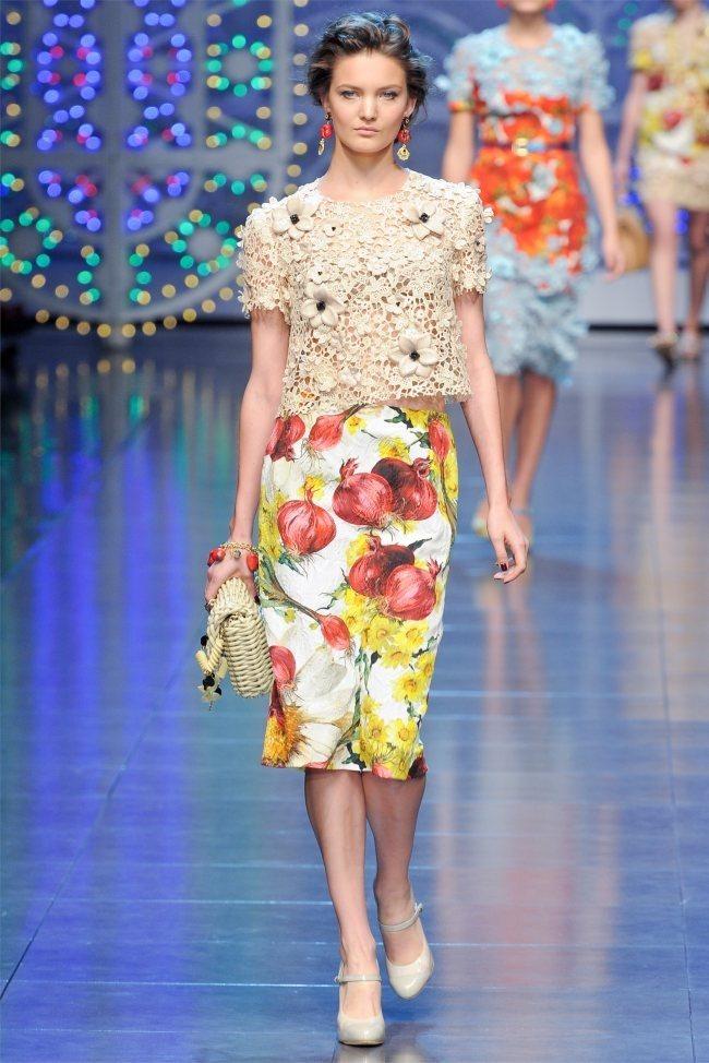 MILAN FASHION WEEK Dolce & Gabbana Spring 2012. www.imageamplified.com, Image Amplified (22)
