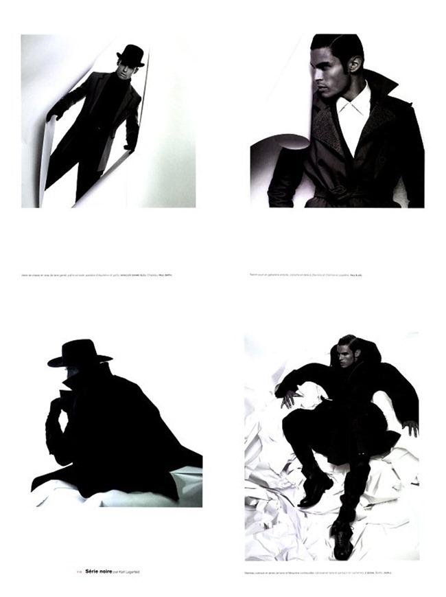 "NUMERO MAGAZINE Baptiste Giabiconi ""Série Noire"" by Karl Lagerfeld. www.imageamplified.com, Image Amplified (1)"