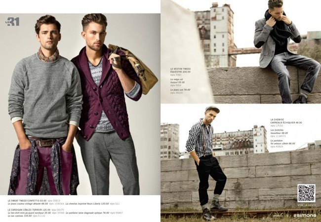 CAMPAIGN Sean O'Pry & Tobias Sørensen for Simons Fall 2011. www.imageamplified.com, Image Amplified (5)