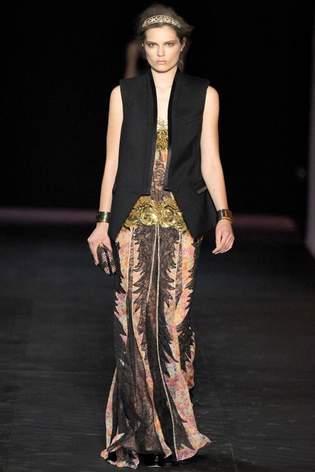 MILAN FASHION WEEK Roberto Cavalli Spring 2012. www.imageamplified.com, Image Amplified (25)