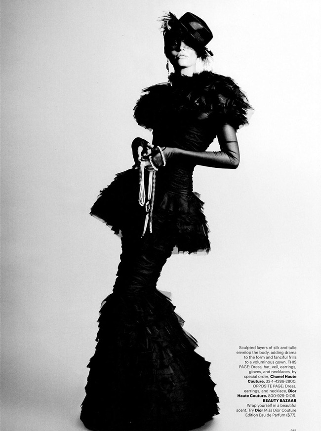 HARPER'S BAZAAR MAGAZINE Candice Swanepoel in Couture Couture by Karl Lagerfeld. Andrew Richardson, October 2011, www.imageamplified.com, Image Amplified (4)