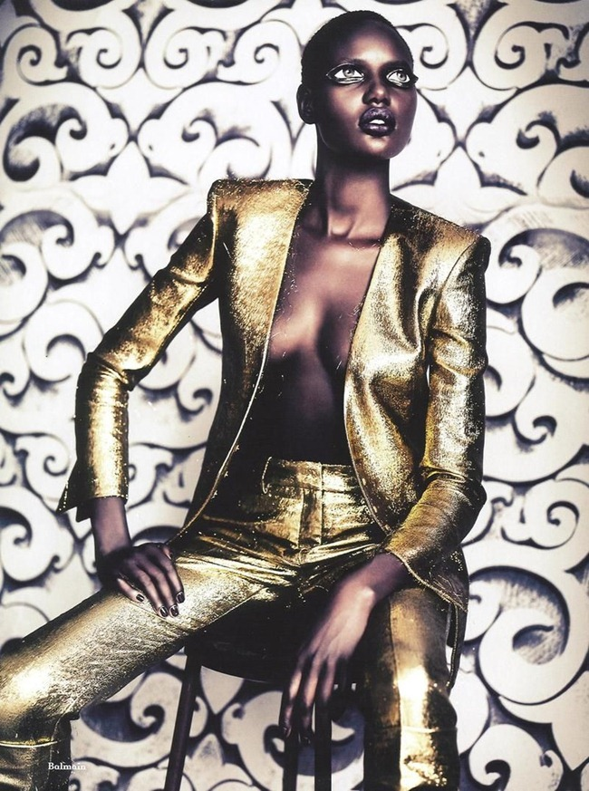 ANOTHER MAGAZINE Ajak Deng by Paolo Roversi. Cathy Edwards, Fall 2011, www.imageamplified.com, Image Amplified (1)