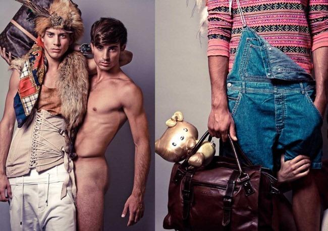 FEATURED MODELS Abel Roda & Borja Navarro in Fashion Hooker by Erion Hegel Kross. Arturo Laso Martinez, www.imageamplified.com, Image Amplified (1)
