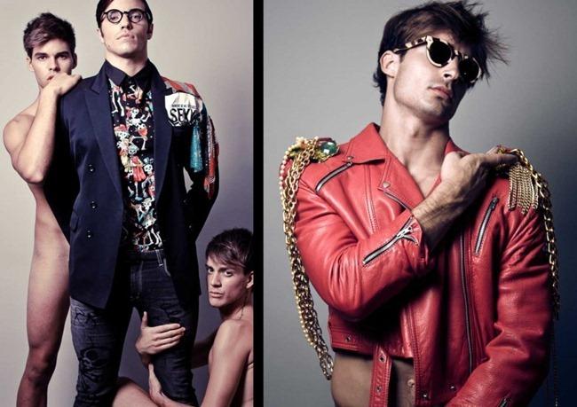 FEATURED MODELS Abel Roda & Borja Navarro in Fashion Hooker by Erion Hegel Kross. Arturo Laso Martinez, www.imageamplified.com, Image Amplified (2)