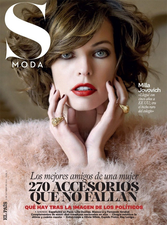 S MODA MAGAZINE Milla Jovovich by Eric Guillemain. October 2011, Francesca Rinciari, www.imageamplified.com, Image Amplified (10)