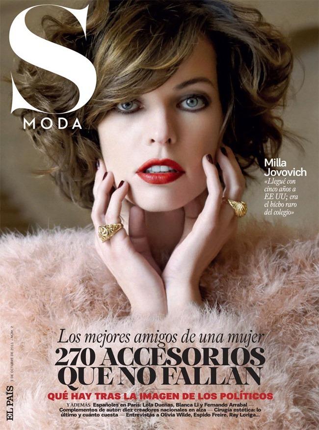 S MODA MAGAZINE Milla Jovovich by Eric Guillemain. October 2011, Francesca Rinciari, www.imageamplified.com, Image Amplified (10)