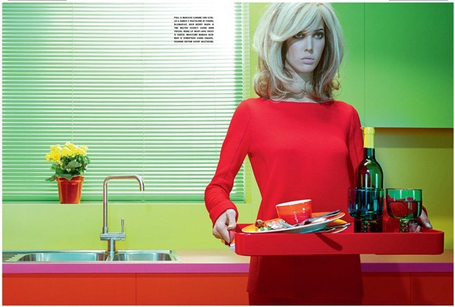 VOGUE ITALIA Ruby Aldridge in Home Chic by Miles Aldridge. Cathy Kosterine, October 2011, www.imageamplified.com, Image Amplified (5)