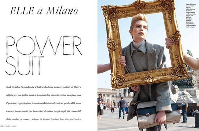 ELLE ITALIA Stella Maxwell in Power Suit by Marcelo Krasilcic. Alberto Zanoletti, October 2011, www.imageamplified.com, Image Amplified (5)