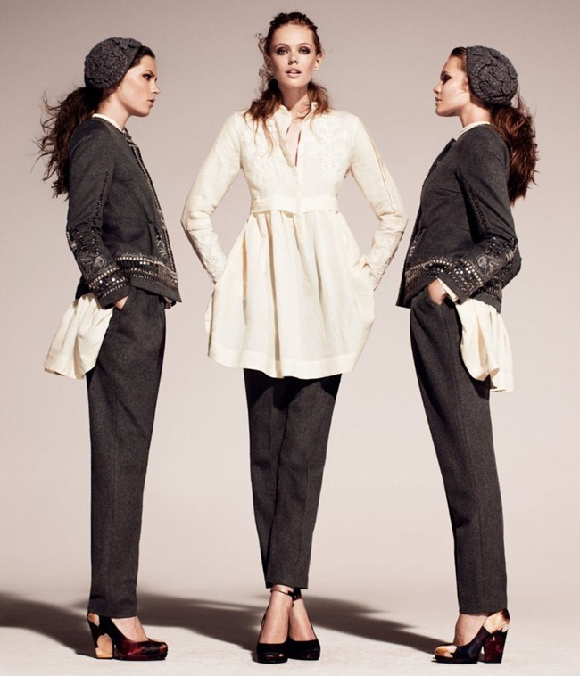 CAMPAIGN Frida Gustavsson & Caroline Brasch Nielsen for H&M Conscious Fall 2011. www.imageamplified.com, Image Amplified (3)