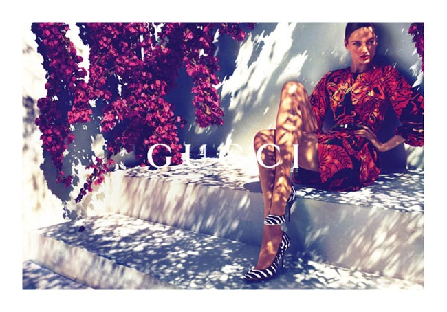 CAMPAIGN karmen Pedaru & Lenz von Johnston for Gucci Cruise 2012 by Mert & Marcus. www.imageamplified.com, Image Amplified (2)