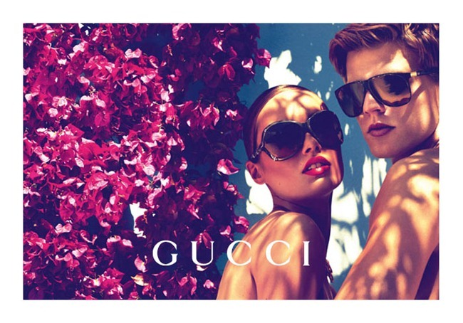 CAMPAIGN karmen Pedaru & Lenz von Johnston for Gucci Cruise 2012 by Mert & Marcus. www.imageamplified.com, Image Amplified (8)