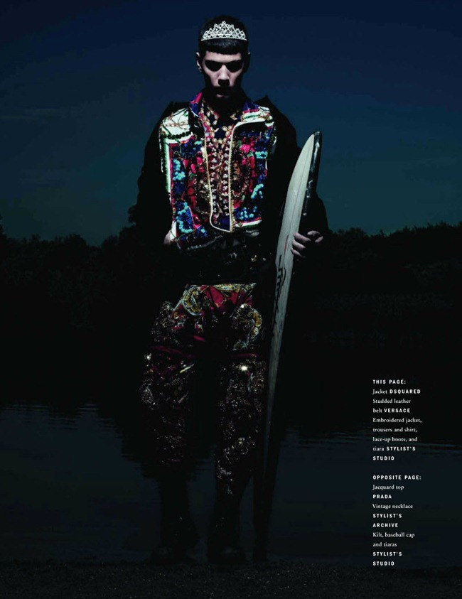 VOGUE HOMME INTERNATIONAL Simone Nobili in Teen Spirit by Willy Vanderperre. Panos Yiapanis, Fall 2011, www.imageamplified.com, Image Amplified (10)