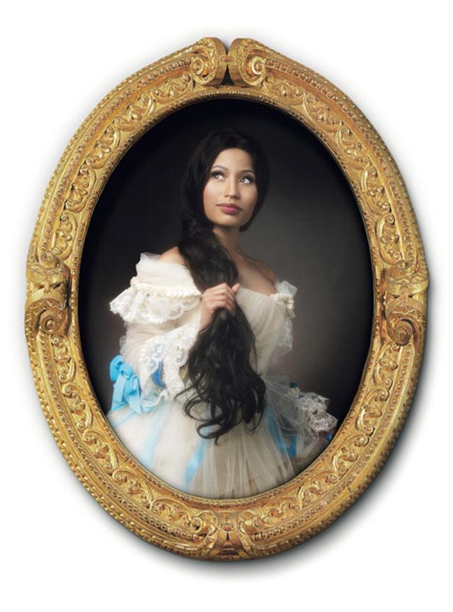 W MAGAZINE Nicki Minaj in Agents Provocateurs by Francesco Vezzoli. November 2011, www.imageamplified.com, Image Amplified (2)