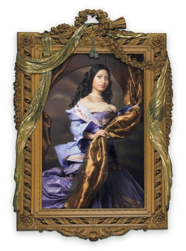 W MAGAZINE Nicki Minaj in Agents Provocateurs by Francesco Vezzoli. November 2011, www.imageamplified.com, Image Amplified (5)