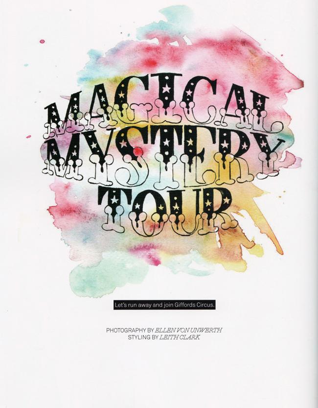 LULA MAGAZINE Rasa Zukauskaite in Magical Mystery Tour by Ellen von Unwerth. Leith Clark, Fall 2011, www.imageamplified.com, Image Amplified (9)