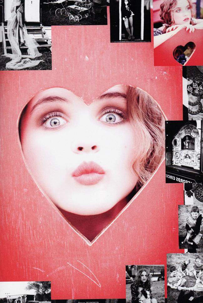 LULA MAGAZINE Rasa Zukauskaite in Magical Mystery Tour by Ellen von Unwerth. Leith Clark, Fall 2011, www.imageamplified.com, Image Amplified (8)