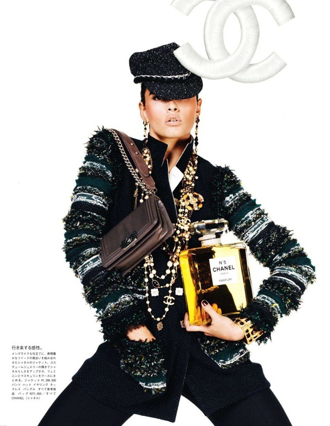 VOGUE JAPAN- Crystal Renn in &%Mi Vida Logo&% by Giampaolo Sgura. Anna Dello Russo, November 2011, www.imageamplified.com, Image Amplified6