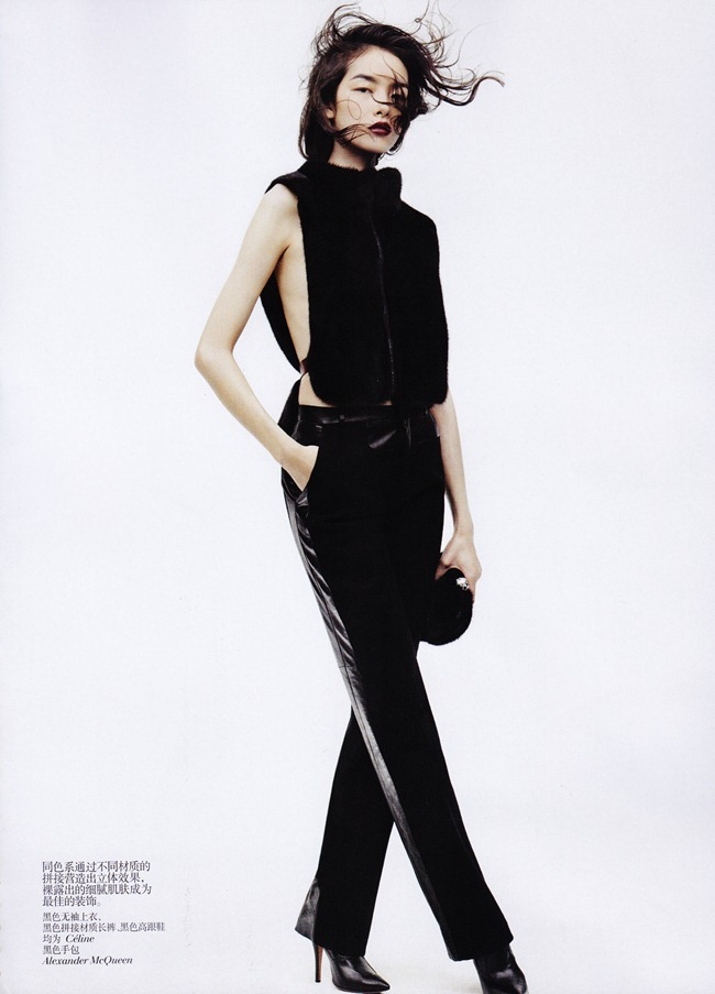 VOGUE CHINA- Fei Fei Sun in &%Black & White&% by Josh Olins. Alastair McKim, November 2011, www.imageamplified.com, Image Amplified0