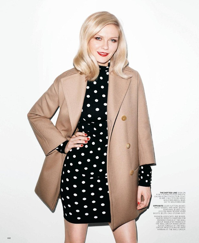 T STYLE MAGAZINE- Kirsten Dunst in &%Sixties Going on 30&% by Terry Richardson. Sarah Moonves, Fall 2011, www.imageamplified.com, Image Amplified2