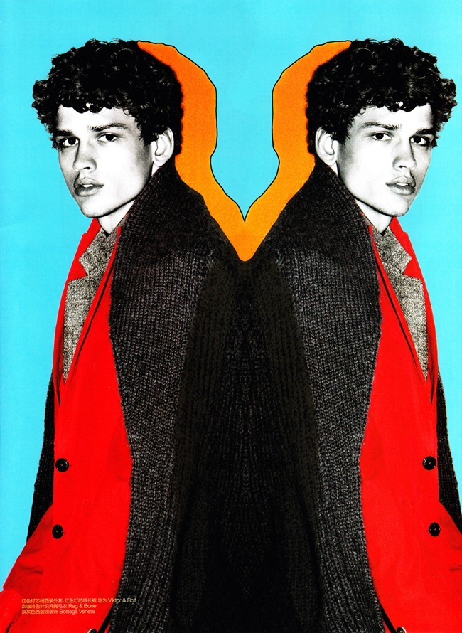 GQ CHINA- Simon Nessman in &%Color&% by Enrique Badulesca. Sean Spellman, Fall 2011, www.imageamplified.com, Image Amplified2