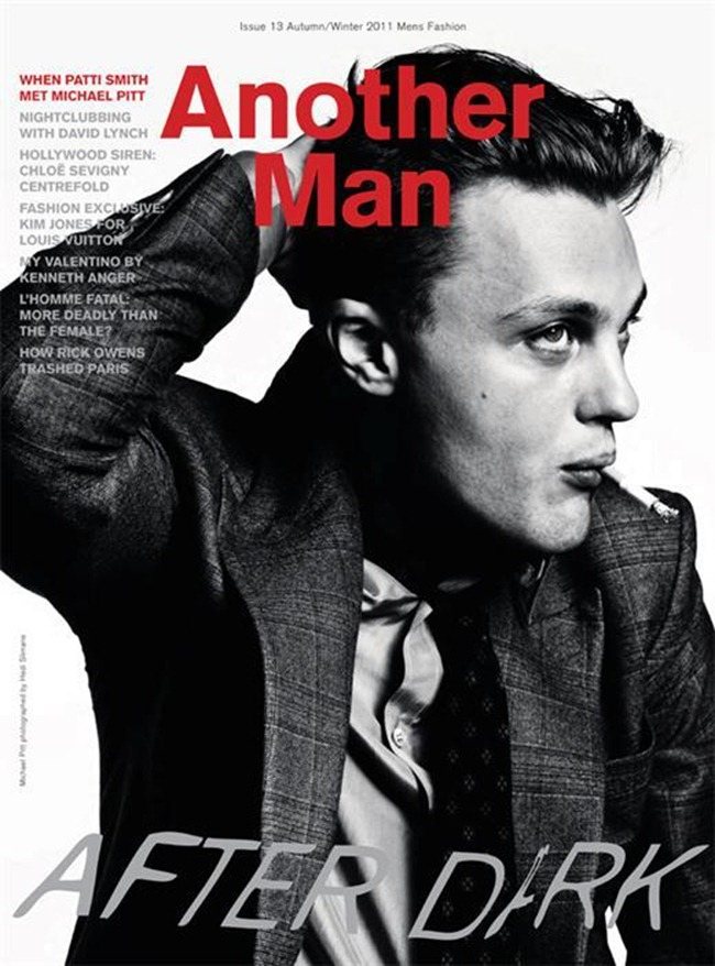 ANOTHER MAN MAGAZINE- Michael Pitt by Hedi Slimane. Fall 2011, www.imageamplified.com, Image Amplified0
