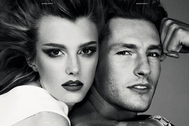ANTIDOTE MAGAZINE- Sigrid Agren & Parker Gregory in &%Beauty & the Beast&% by Giampaolo Sgura. Fall 2011, Yann Weber, www.imageamplified.com, Image Amplified3 (1)