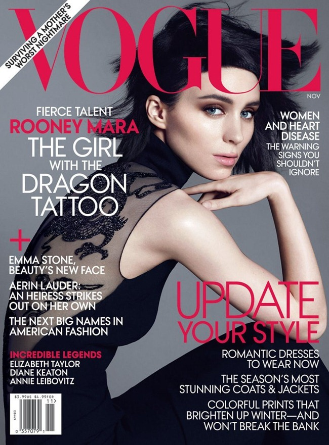 VOGUE MAGAZINE Rooney Mara by Mert & marcus. Tonne Goodman, November 2011, www.imageamplified.com, Image Amplified (6)
