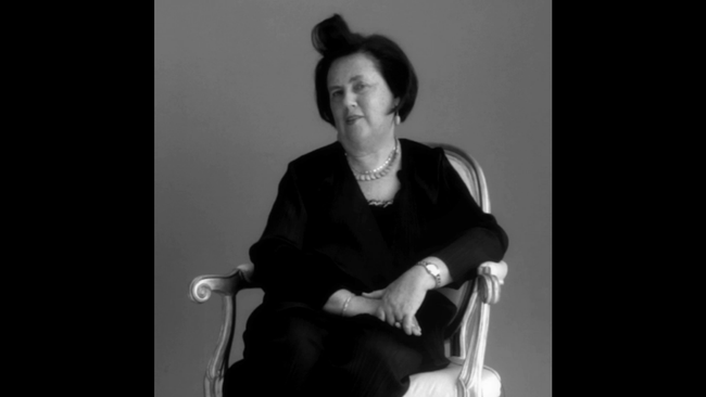 FASHION VIDEO/SHOWSTUDIO: Suzy Menkes, In Fashion. Image Amplified www.imageamplified.com