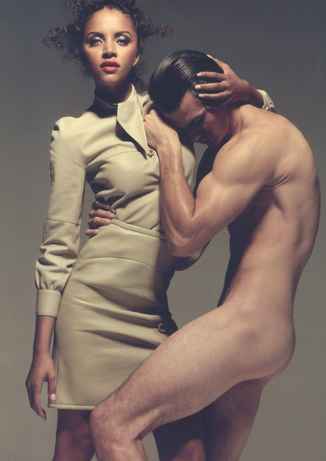 PONYSTEP MAGAZINE Dylan Garner & Noemie Lenoir in Leather Top by Xevi Muntane. Phoebe Arnold, Fall 2011, www.imageamplified.com, Image Amplified (4)