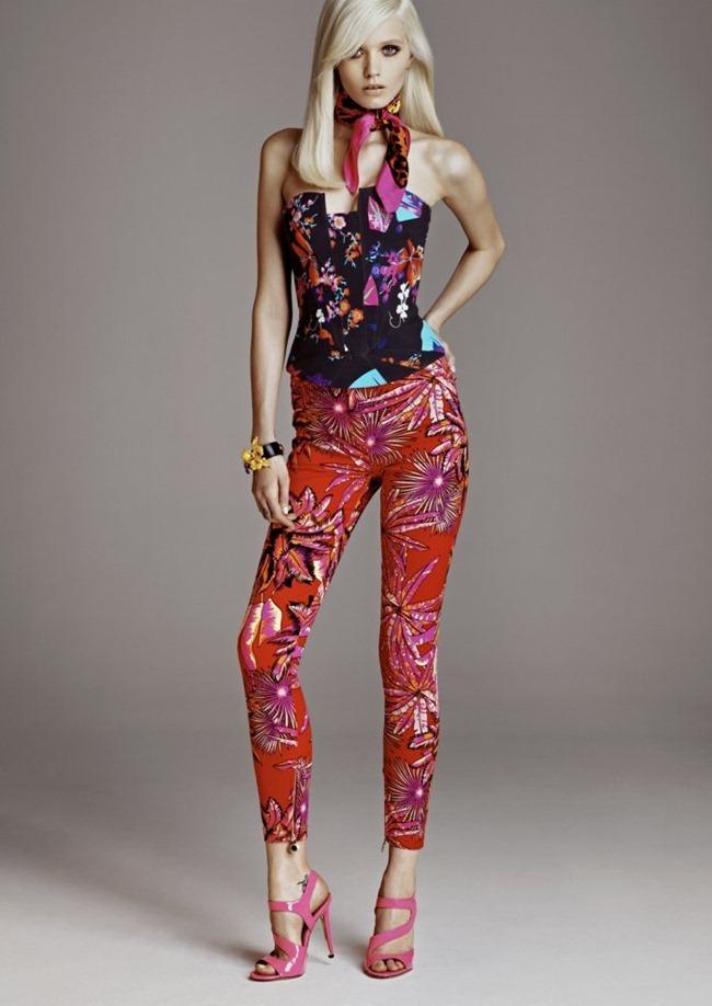 LOOKBOOK Abbey Lee Kershaw in Versace for H&M Fall 2011 by Kacper Kasprzyk. www.imageamplified.com, Image Amplified (9)