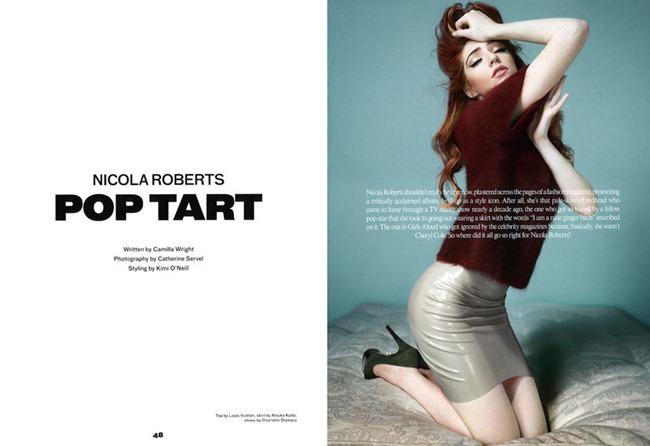 PONYSTEP MAGAZINE Nicola Roberts in Pop Tart by Catherine Servel. Kimi O'Neill, www.imageamplified.com, Image Amplified (2)