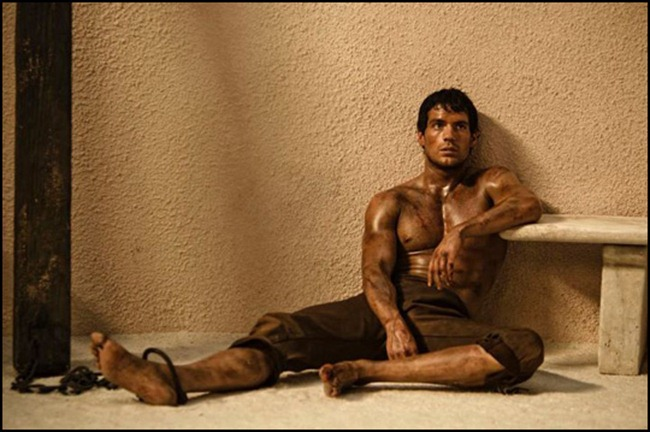 PREVIEW- Henry Cavill & Kellan Lutz for Immortals Entertainment Weekly, October 2011, www.imageamplified.com, Image Amplified5