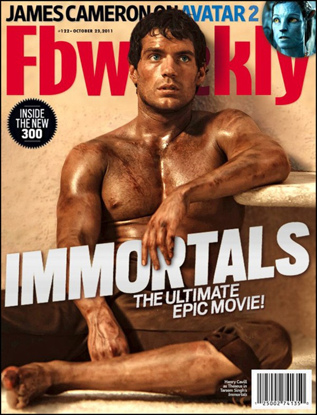 PREVIEW- Henry Cavill & Kellan Lutz for Immortals Entertainment Weekly, October 2011, www.imageamplified.com, Image Amplified3