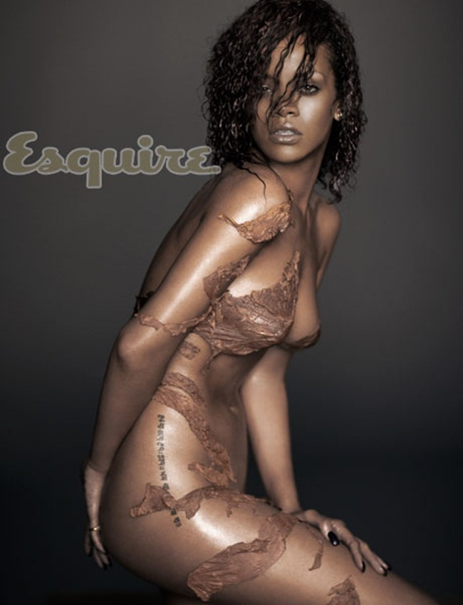 ESQUIRE MAGAZINE- Rihanna in The Sexiest Woman Alive by Russell James. November 2011, www.imageamplified, Image Amplified4