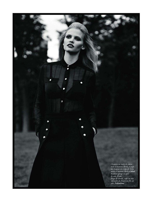 VOGUE PARIS- Lara Stone in Central Park by Alasdair McLellan. Suzanne Koller, November 2011, www.imageamplified.com, Image Amplified9