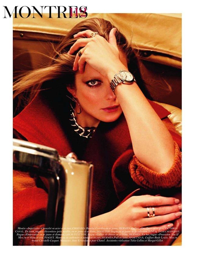VOGUE PARIS- Eniko Mihalik in Aiguillees Eighties by Sharif Hamza. Geraldine Saglio, November 2011, www.imageamplified.com, Image Amplified6