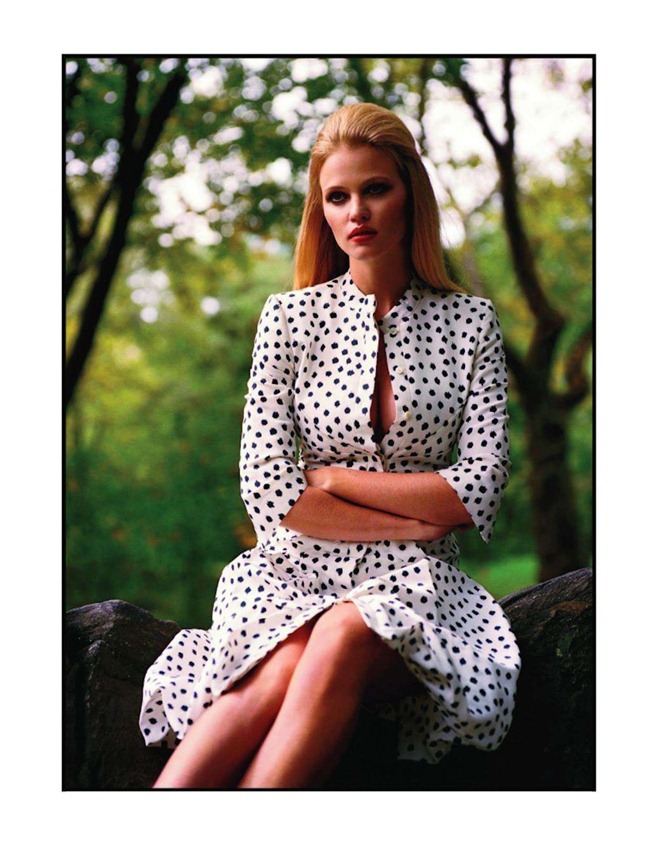 VOGUE PARIS- Lara Stone in Central Park by Alasdair McLellan. Suzanne Koller, November 2011, www.imageamplified.com, Image Amplified2