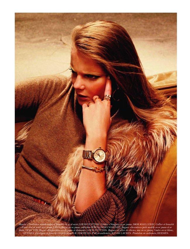 VOGUE PARIS- Eniko Mihalik in Aiguillees Eighties by Sharif Hamza. Geraldine Saglio, November 2011, www.imageamplified.com, Image Amplified1