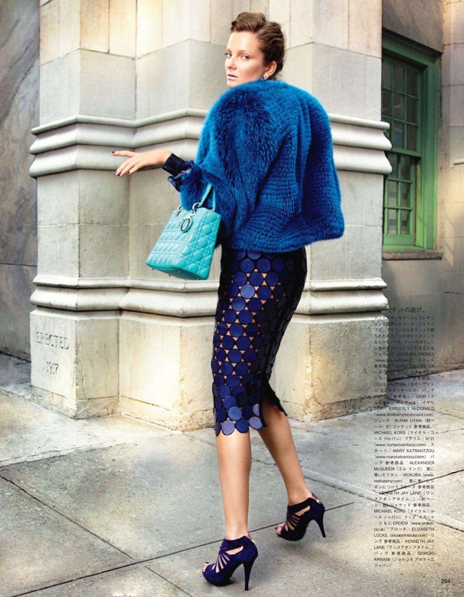 VOGUE JAPAN- Constance Jablonski & Eniko Mihalik in We Call It Glamour by Alex Cayley. Giovanna Battaglia, December 2011, www.imageamplified.com, Image Amplified2