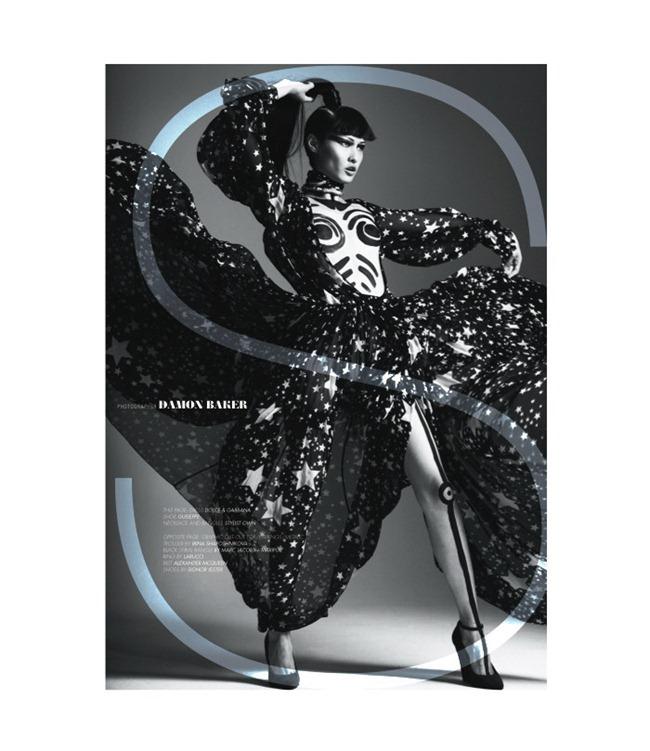LOVECAT MAGAZINE- Wang Xiao by Damon Baker. Brett Bailey, www.imageamplified.com, Image Amplified9