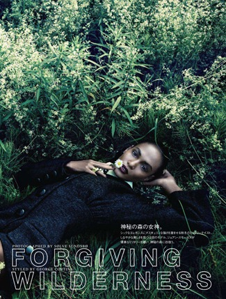 VOGUE JAPAN- Joan Smalls in Forgiving Wilderness by Solve Sundsbo. George Cortina, December 2011, www.imageamplified.com, Image Amplified0