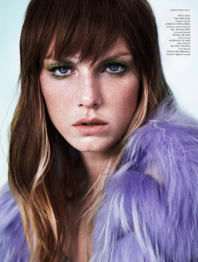 ALLURE KOREA- Angela Lindvall in Angela, the Beautiful by Catherine Servel. Catherine Newell-Hanson, November 2011, www.imageamplified.com, Image Amplified7